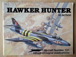 SQUADRON/SIGNAL AIRCRAFT IN ACTION  1121. HAWKER HUNTER