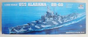 TRUMPETER 1/350 05307 USS ALABAMA BB-60