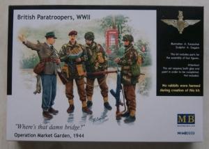 MASTERBOX 1/35 3533 BRITISH PARAS SET 1