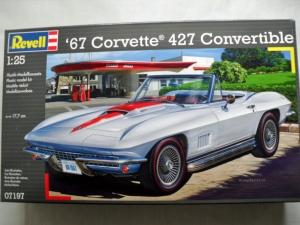 REVELL 1/25 07197 67 CORVETTE 427 CONVERTIBLE