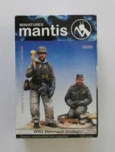 MANTIS MINIATURES 1/35 35050 WWII WHRMACHT SOLDIERS