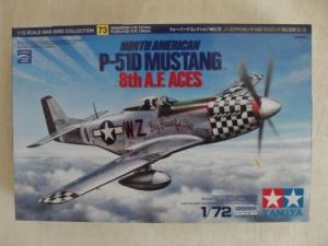 TAMIYA 1/72 60773 P-51D MUSTANG 8th AF ACES