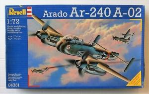 REVELL 1/72 04331 ARADO Ar 240 A-02
