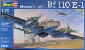REVELL 1/72 04341 MESSERSCHMITT Bf 110 E-1