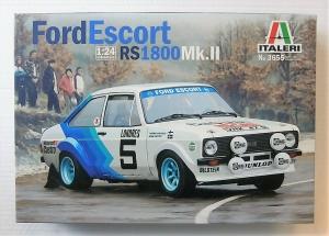 ITALERI 1/24 3655 FORD ESCORT RS 1800 Mk.II