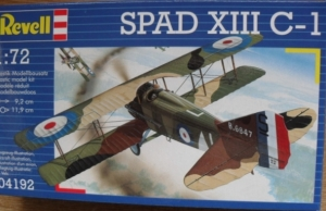 REVELL 1/72 04192 SPAD XIII C-1
