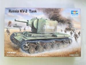 TRUMPETER 1/35 00312 RUSSIAN KV-2
