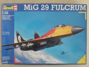 REVELL 1/32 04707 MiG-29 FULCRUM