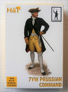 HAT INDUSTRIES 1/72 8282 PRUSSIAN INFANTRY COMMAND