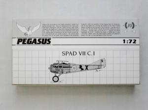 PEGASUS 1/72 2024 SPAD VII C.1