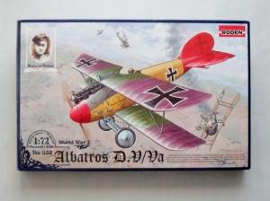 RODEN 1/72 032 ALBATROS D.V/Va