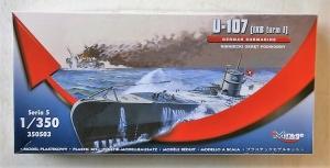 MIRAGE 1/350 350503 U-107  IXB TURM I