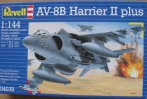 REVELL 1/144 04038 AV-8B HARRIER II PLUS