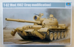 TRUMPETER 1/35 01547 T-62 Mod.1962 IRAQ MODIFICATION