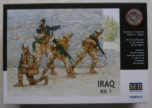 MASTERBOX 1/35 3575 IRAQ KIT 1 US MARINES