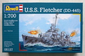 REVELL 1/700 05127 USS FLETCHER DD-445