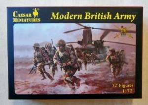 CAESAR MINATURES 1/72 060 MODERN BRITISH ARMY