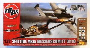AIRFIX 1/72 50128 SPITFIRE Mk.Ia    MESSERSCHMITT Bf 110 DOGFIGHT DOUBLE
