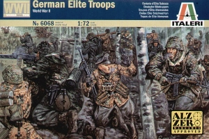 ITALERI 1/72 6068 WWII GERMAN ELITE TROOPS