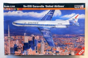 MASTERCRAFT 1/144 D-27 SE-210 CARAVELLE UNITED/SAS/SABENA/AEROFLOT