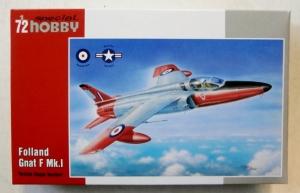 SPECIAL HOBBY 1/72 72322 FOLLAND GNAT F Mk.I