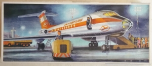 VEB 1/100 Tu-134 INTERFLUG