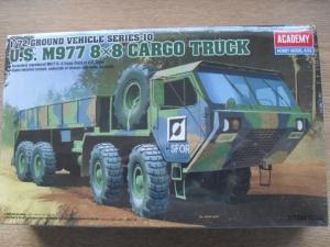 ACADEMY 1/72 13412 M977 8x8 CARGO TRUCK