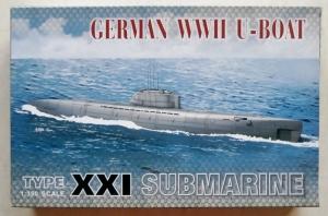 AFV CLUB 1/350 73501 TYPE XXI U-BOAT