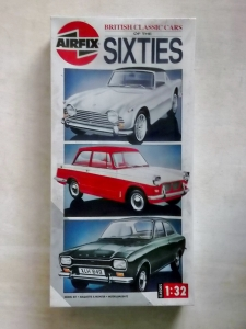AIRFIX 1/32 07900 BRITISH CLASSIC CARS OF THE SIXTIES