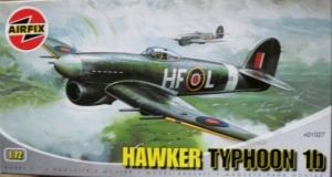 AIRFIX 1/72 01027 HAWKER TYPHOON Ib