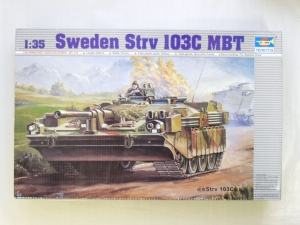 TRUMPETER 1/35 00310 SWEDISH STRV 103C MBT