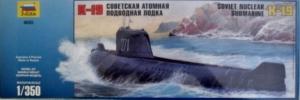 ZVEZDA 1/350 9025 K-19 SOVIET H CLASS SUBMARINE
