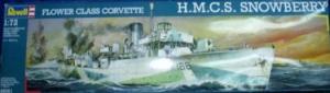 REVELL 1/72 05061 HMCS SNOWBERRY FLOWER CLASS CORVETTE  UK SALE ONLY