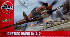 AIRFIX 1/72 01003 CURTISS HAWK 81-A-2