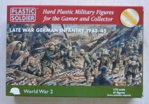PLASTIC SOLDIER 1/72 20003 LATE WAR GERMAN INFANTRY 1943-45