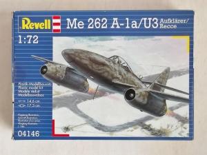 REVELL 1/72 04146 MESSERSCHMITT Me 262 A-1a/U3 AUFKLARER/RECCE