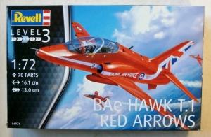 REVELL 1/72 04921 BAe HAWK T.1 RED ARROWS