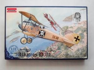 RODEN 1/72 022 ALBATROS D.III OEFFAG s.53.2