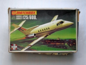 MATCHBOX 1/72 PK-110 HAWKER SIDDELEY 125/600