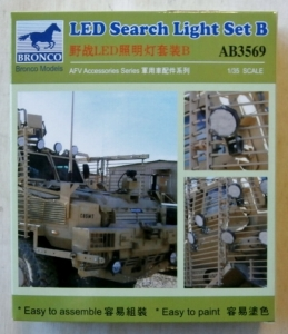 BRONCO 1/35 3569 LED SEARCH LIUGHT SET B