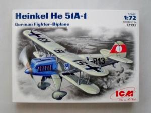 ICM 1/72 72193 HEINKEL He 51A-1