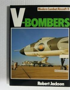 CHEAP BOOKS  ZB606 MODERN COMBAT AIRCRAFT 11 V-BOMBERS