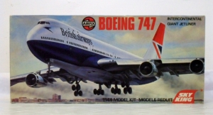 AIRFIX 1/144 08170 BOEING 747 BRITISH AIRWAYS