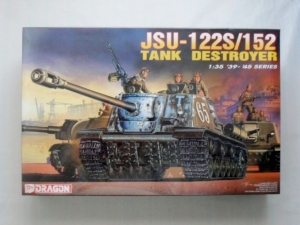 DRAGON 1/35 6047 JSU-122S/152 TANK DESTROYER