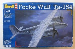 REVELL 1/48 04535 FOCKE WULF Ta-154