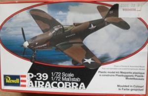 REVELL 1/72 4105 P-39 AIRACOBRA