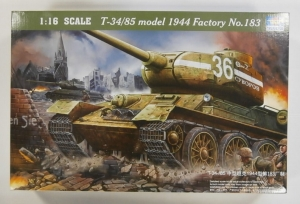 TRUMPETER 1/16 00902 T-34/85 MODEL 1944 FACTORY No.183  UK SALE ONLY