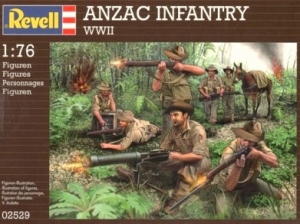 REVELL 1/76 02529 WWII ANZAC INFANTRY