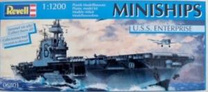 REVELL 1/1200 06801 USS ENTERPRISE