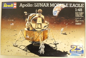 REVELL 1/48 04807 APOLLO LUNAR MODULE EAGLE 25th ANNIVERSARY